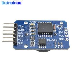 Free Shipping 1PCS DS3231 AT24C32 IIC Precision RTC Real Time Clock Memory Module For Arduino new original