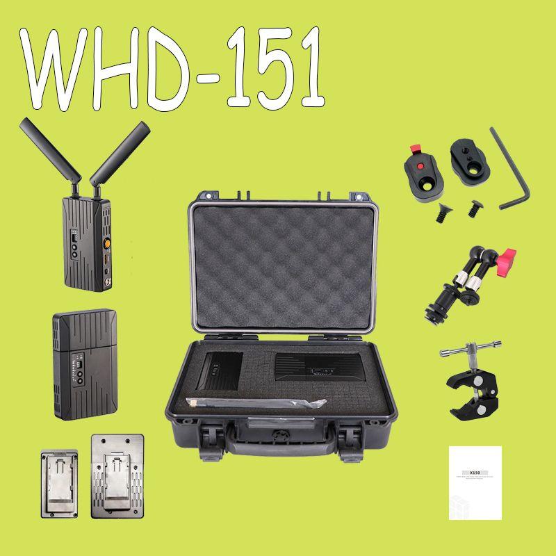 150 m/500ft 5 GHz HDMI SDI Drahtlose Übertragung System 3G 1080 P HD Video TV Broadcast-Sender und Empfänger