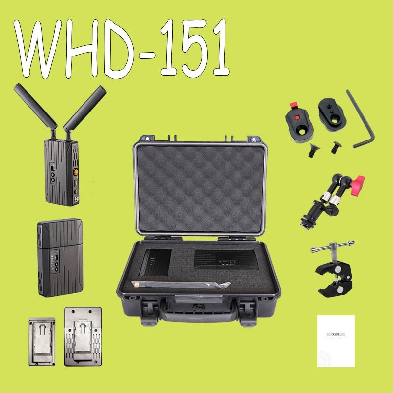 150m/500ft 5GHz HDMI SDI Wireless Transmission System 3G 1080P HD Video TV Broadcast Transmitter And Receiver