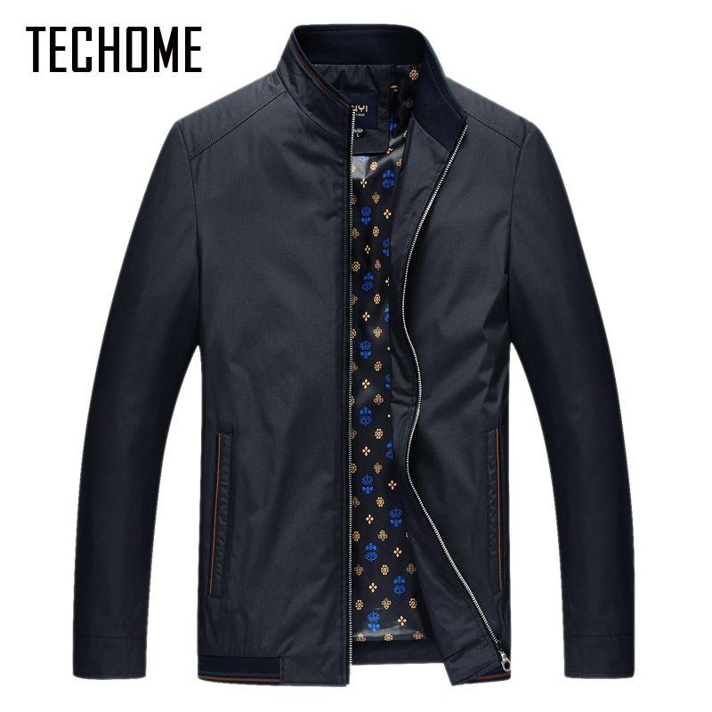 Новинка весны куртка Для мужчин пальто Повседневное куртка-бомбер Куртки Для мужчин S пиджаки ветровка пальто Jaqueta Весте Homme брендовая одежд...