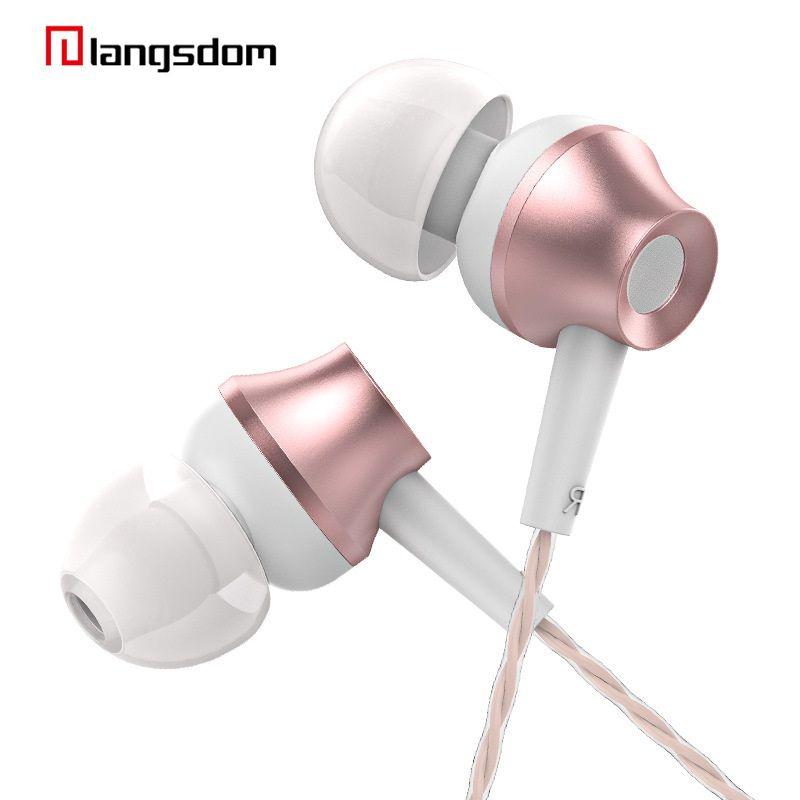 3,5mm In-ear-kopfhörer Rose Gold Ohrhörer mit Mikrofon & fernbedienung Klaren Klang & Starke Bass Original Hohe Qualität Für Xiaomi