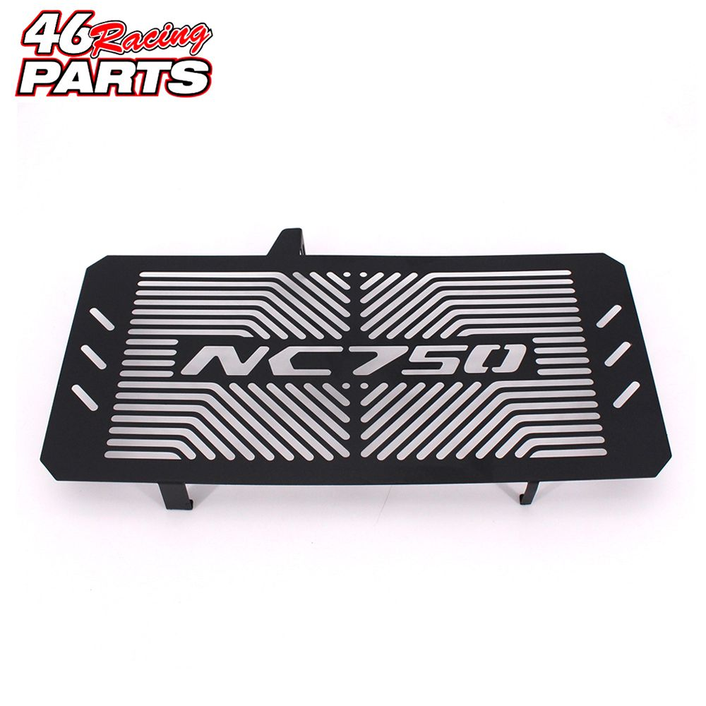 Black Motorcycle Accessories Radiator Guard Protector Grille Grill Cover For HONDA NC750 NC750S NC750X NC 750S/X 2014 2015 2016