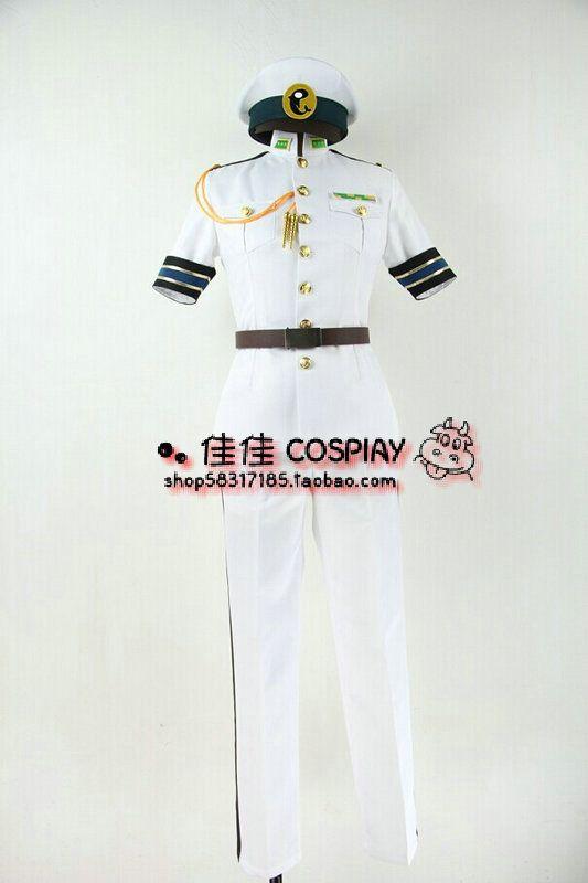 2016 Free! - Iwatobi Swim Club Haruka Nanase jersey Team Rin Tachibana Makoto Matsuoka costume navy uniform set