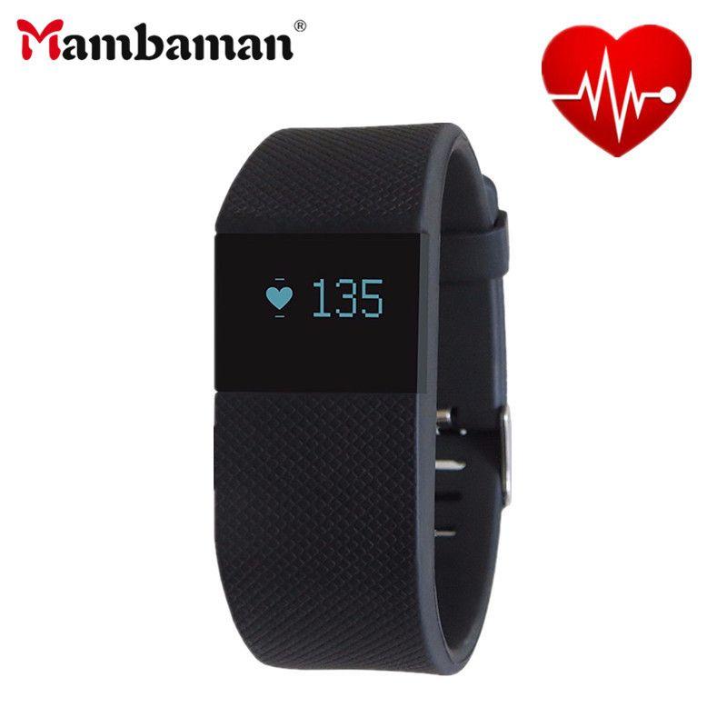 Mambaman TW64S пульса Smart Band Фитнес трекер Bluetooth браслет для IOS Android Xiaomi телефон PK cicret браслет