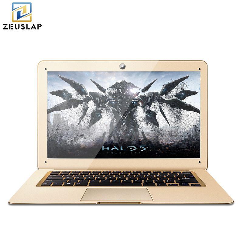ZEUSLAP-A8 14inch 8GB Ram+120GB SSD+1000GB HDD Ultrathin Intel Quad Core Fast Boot Windows 10 System Laptop Notebook Computer