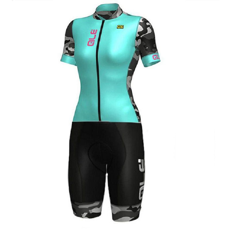 New Hot ALE Skinsuit Cycling Clothing one piece Bodysuit Ropa Ciclismo MTB Bike Clothing Women outdoor wear # SK00022705