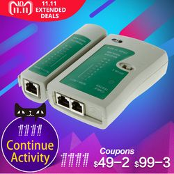 Professional RJ45 Cable lan tester Network Cable Tester RJ45 RJ11 RJ12 CAT5 UTP LAN Cable Tester Networking Tool network Repair