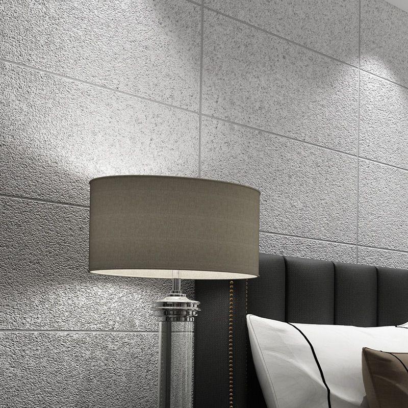 Moderne Einfache 3D Kunstmarmor Fliesen Gitter Tapete Schlafzimmer Wohnzimmer TV Kulisse Beflockung vlies Gestreiften Tapeten