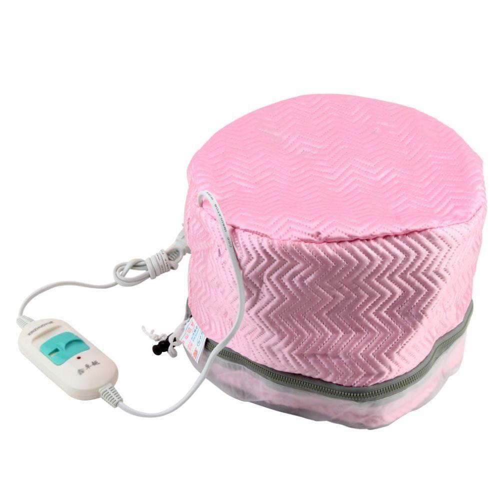 Vente chaude 1 pièces US Plug traitement thermique électrique cheveux beauté vapeur SPA nourrissant cheveux soins Cap cheveux massage livraison directe