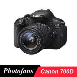 Canon 700D/Rebel T5i DSLR cámara digital con 18-55mm lente-18 MP-Full HD 1080 p video-Vari-ángulo pantalla táctil (nuevo)