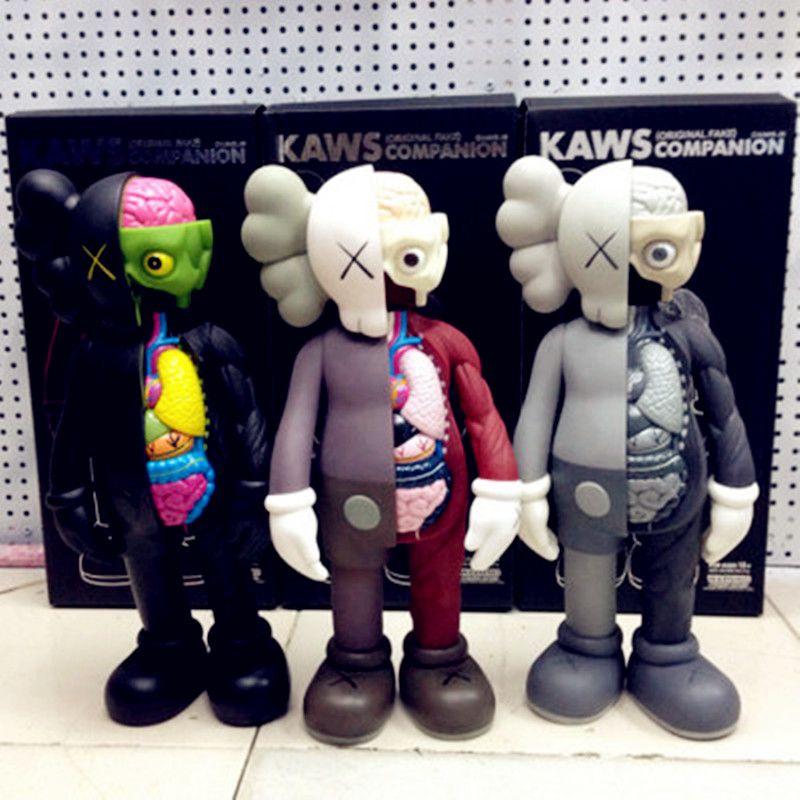 16 Inches Medicom Toy KAWS Brian OriginalFake Street Art BFF PVC Action Figure Collectible Model Toy S155