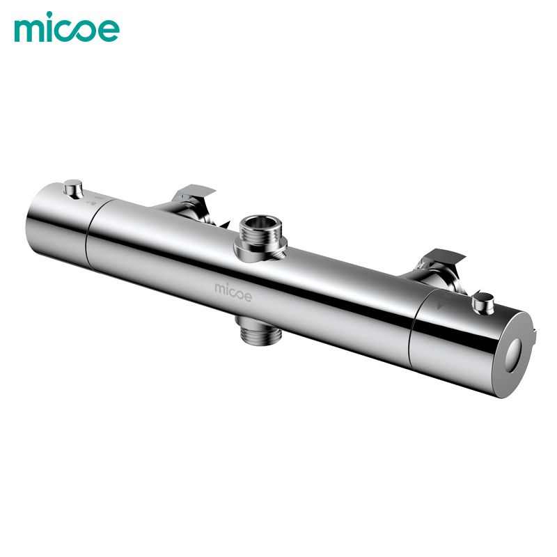 Micoe Bathroom Shower Faucet Thermostatic Shower Faucets Hot And <font><b>Cold</b></font> Bathroom Mixer Mixing Valve Bathtub Faucet