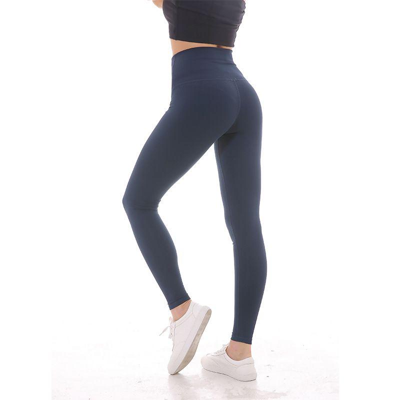 NWT 2018 Eshtanga Women Sports high rise leggings super quality High Elastic Waist Solid 4-way Stretch Skinny Pants Size XXS-XL