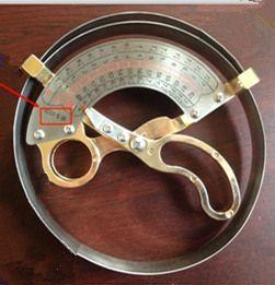hat ruler Professional cap ruler hat measurement tools