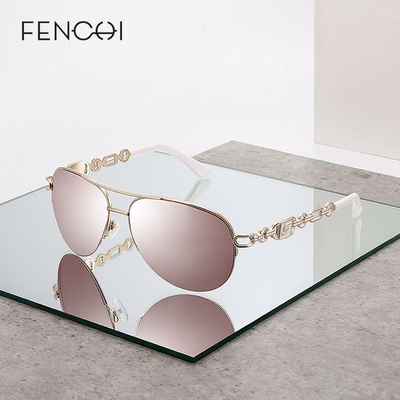 Brand sunglasses women oculos Pilot Mirror Female Sun Glasses Pink feminino zonnebril dames gafas de sol mujer