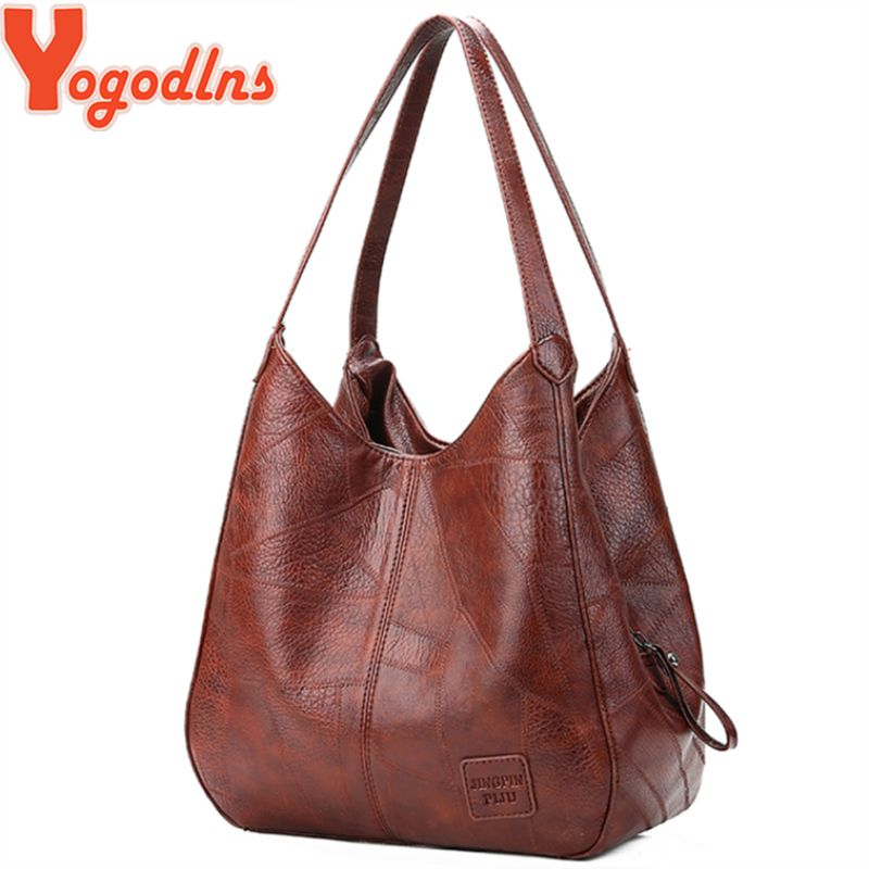 Yogodlns Vintage femmes sac à main Designers sacs à main de luxe femmes sacs à bandoulière femme haut-poignée sacs de marque de mode sacs à main