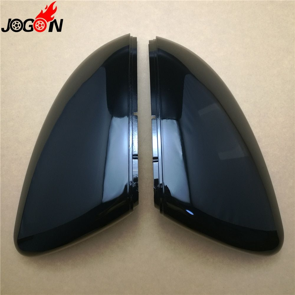 2PC For VW GOLF 7 MK7 MK7.5 GTI R GTE GTD 2013 - 2018 Touran 2016 2017 ABS Side Rear view Mirror Cover Replacement Caps Shell