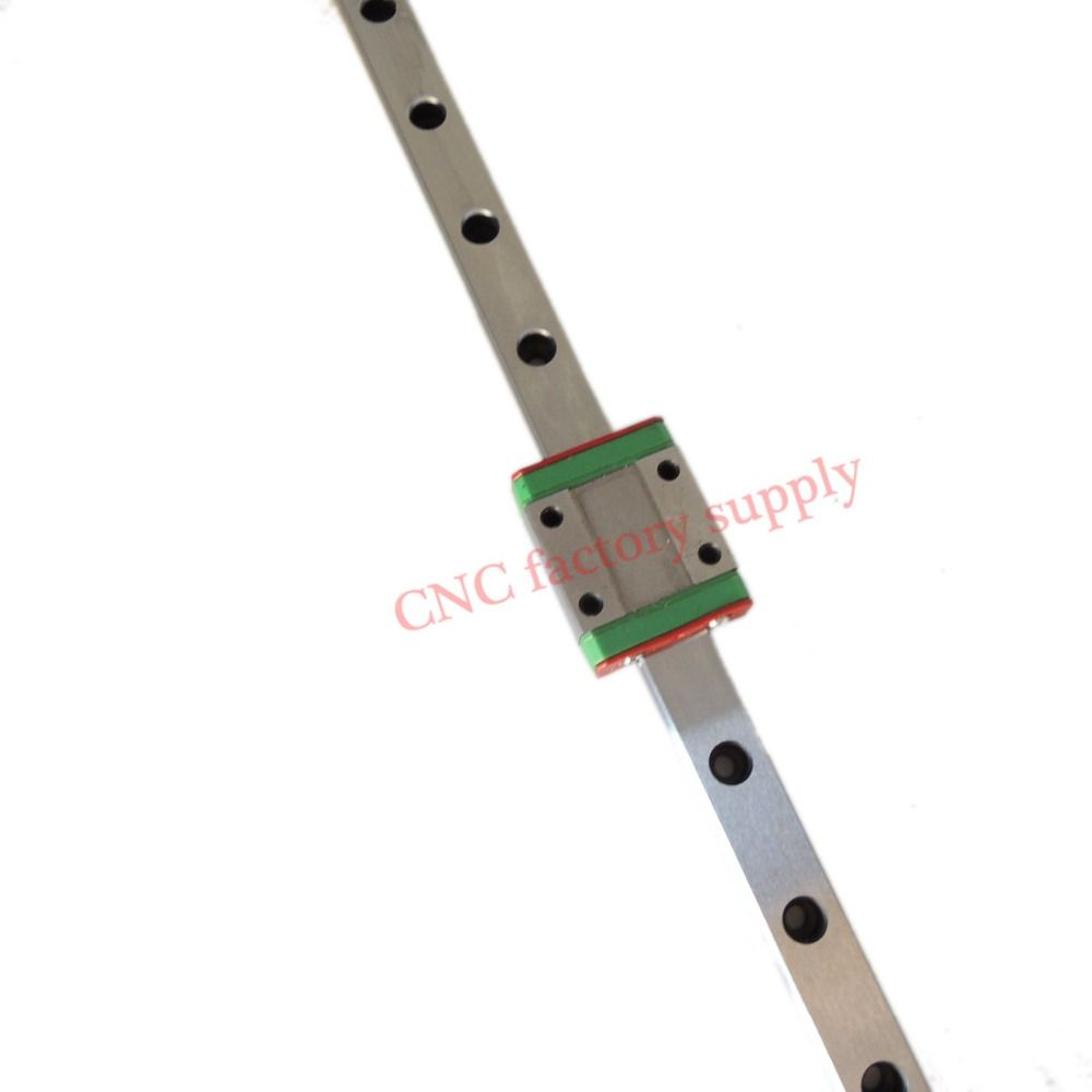CNC part MR9 9mm linear rail guide MGN9 length 100mm with mini MGN9C linear block carriage miniature linear motion guide way