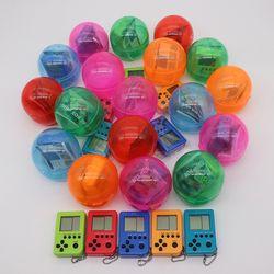 KaRue Tetris consola colgante llavero juegos Playes Mini juegos clásicos nostálgicos recuerdos de la infancia
