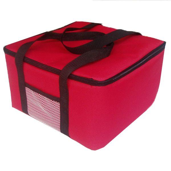 12 pouces isolé pizza sac promotionnel grand thermique refroidisseur sac alimentaire conteneur 40x40x29 cm