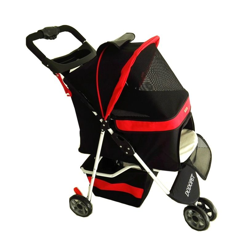 2016 Real High-end Pet Stroller For Small And Medium Dogs Load 15 Kg Cheap Dog Pushchair Pram/doggy /puppy Strollers Black/red