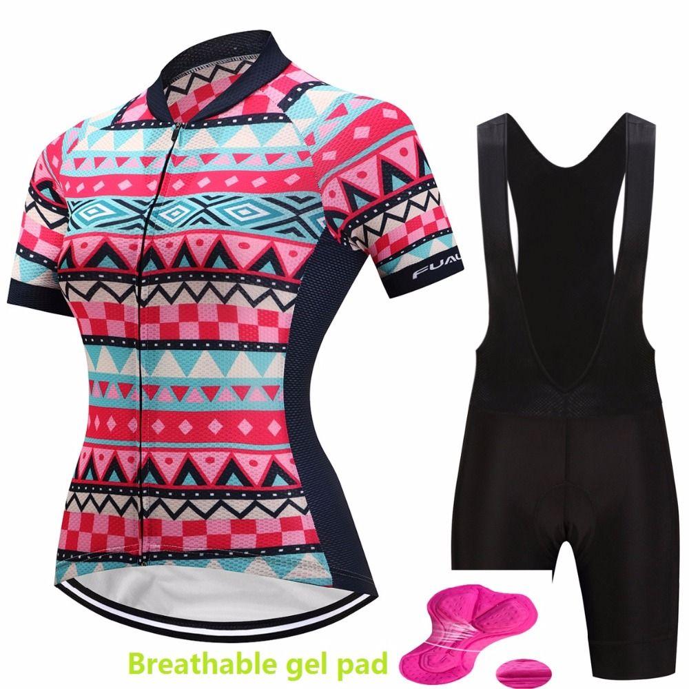 bicycle dress women cycling jersey set 2018 roupa bike clothing mtb bicycle clothes triathlon skinsuit sport wear kit pro suit