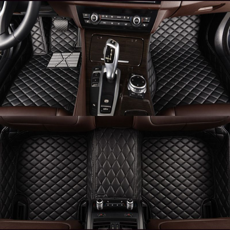 HLFNTF Custom car floor mats For mazda all model mazda 2 3 5 6 8 CX-4 CX-5 CX-7 CX-9 atenza Tribute car accessories car stying