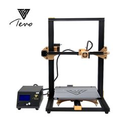 2018 TEVO Tornade 3D Imprimante Entièrement Assemblé En Aluminium D'extrusion 3D Machine D'impression Impresora 3d De Haute Précision Titan Extrudeuse
