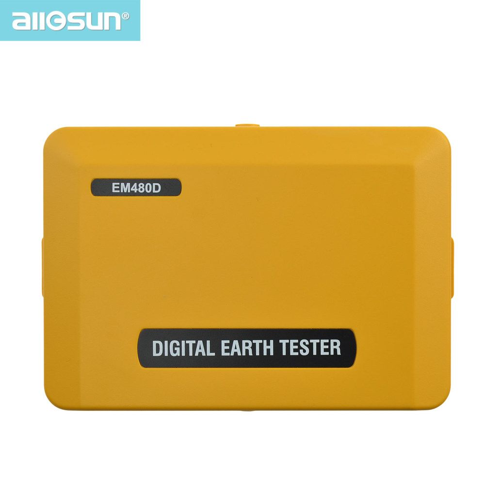 all-sun EM480D Digital earth tester grounding resistance electrical device auto power off lighting protection device