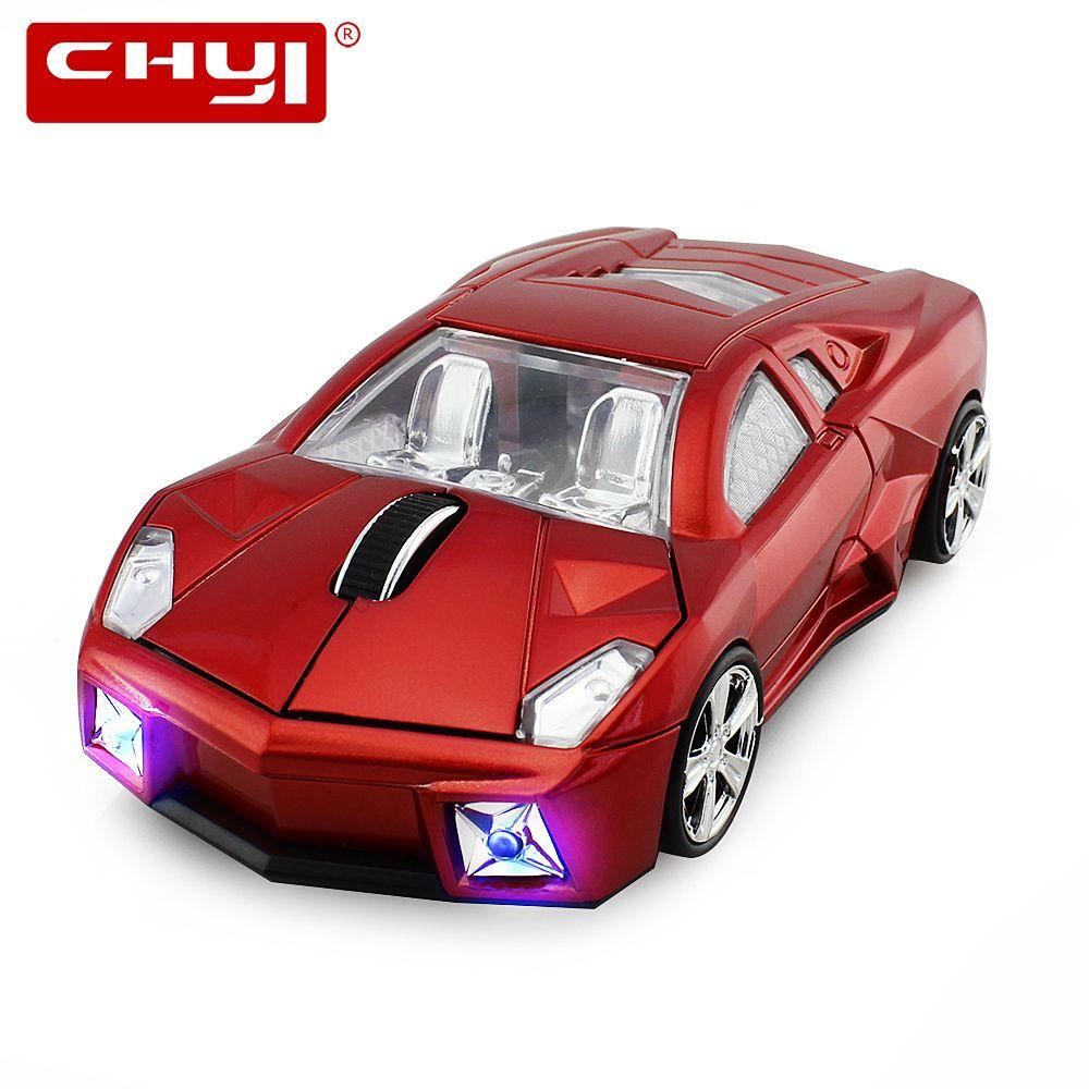 2.4 Ghz sans fil voiture de sport en forme de souris 1600 DPI USB souris d'ordinateur optique 3D souris de jeu Sem Fio Mause Gamer pour ordinateur portable PC