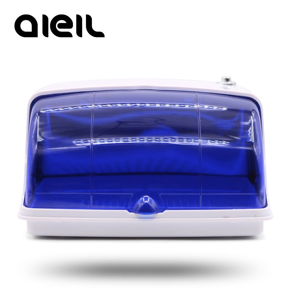 UV Sterilizer Nail Art Nails Sterilizer Manicure Machine UV Disinfection Sterilizer Box Nail Tools Sterilizer EU Plug Nail Salon
