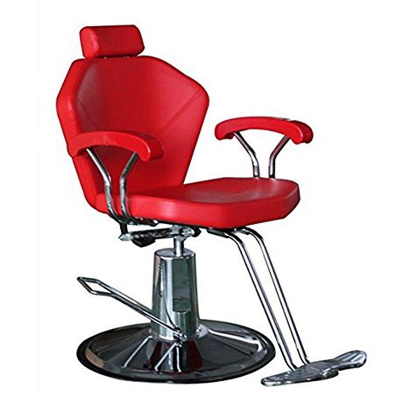Hydraulic Reclining Barber Chair Salon Cape Shampoo Beauty Spa Equipment