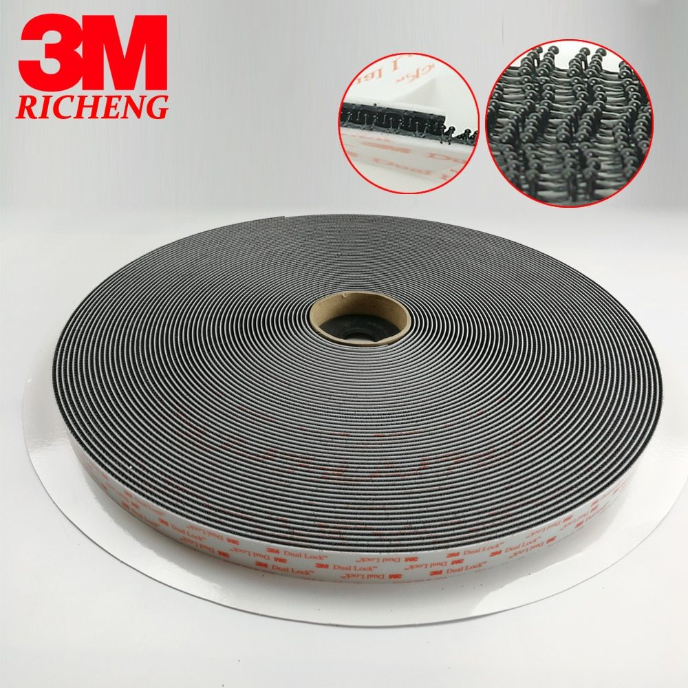 3M SJ3550 adhesive Sotchmate fasterners with acrylic acid Dual Lock tape 1in*50yards