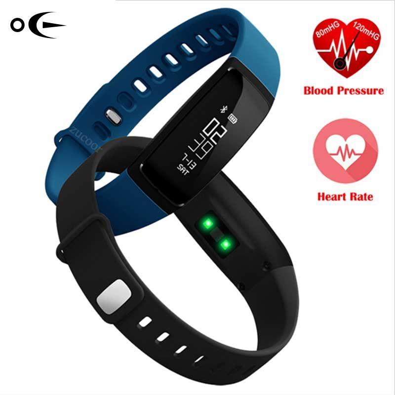 Bluetooth Smart Watch Blutdruckmessgerät Monitor Armband Sportuhr Schrittzähler Mode Frauen Smart armband armband