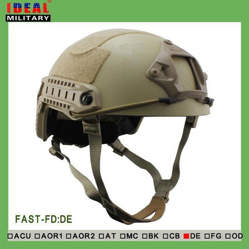 Tactical Jagd NIJ IIIA SCHNELLE Ballistischen Helm Mit Bericht Ops Core SCHNELLE Ballistischen Helm Militärische Kugelsichere Helm Tan