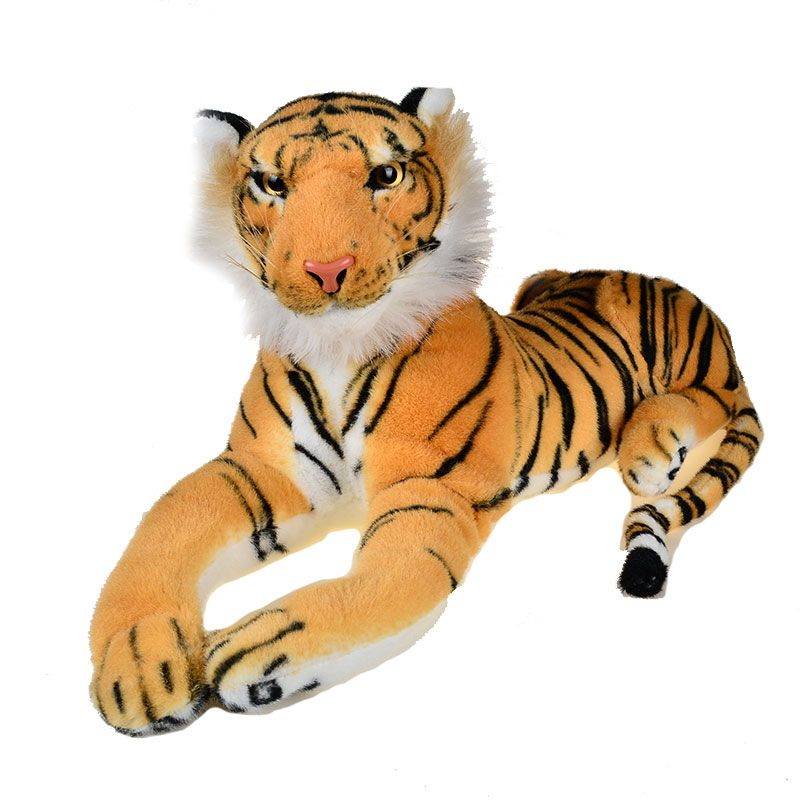 Plush Toy Tiger King of Jungle Stuffed Animal Toys Big Cat Size 47CM