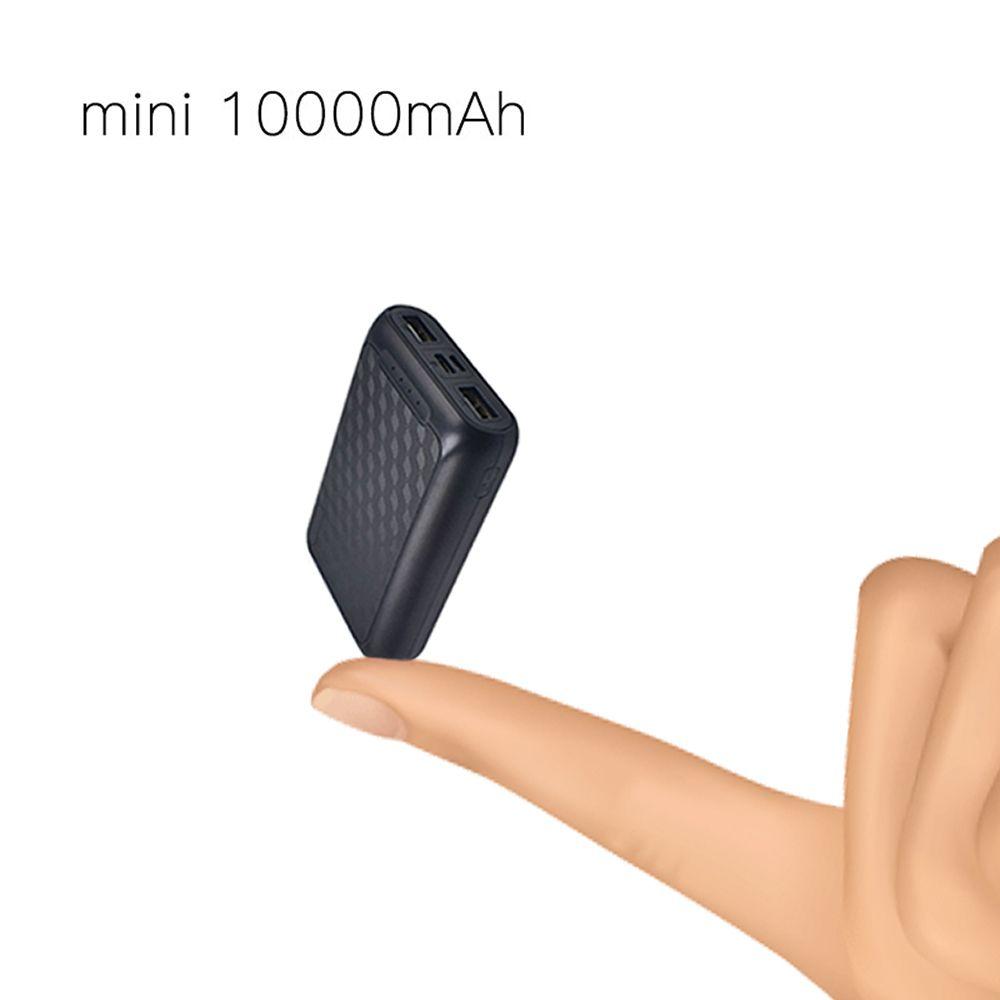 Batterie externe pour xiaomi mi iPhone, mi ni Pover Bank 10000mAh Powerbank batterie externe Type C appauvrbank