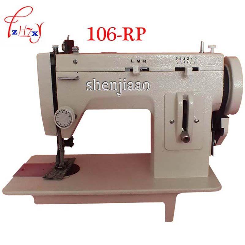 220 V/110 V 150 W Haushalt Nähmaschine Zoll BateRpak Arm Pelz, Leder, herbst Kleidung Stich Nähen Maschine