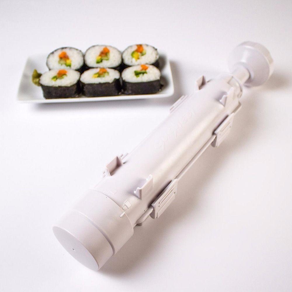 Sushi Maker Roller Roll Mold Sushi Roller Bazooka Rice Meat Vegetables DIY Sushi Making Machine Kitchen Sushi Tools