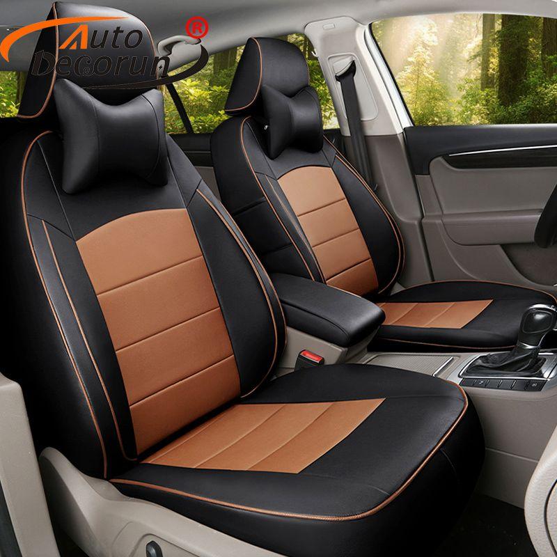 AutoDecorun Nach sitz abdeckungen für Jaguar XF zubehör sitz abdeckung PU leder abdeckung Sitz autos sitzkissen unterstützt protektoren