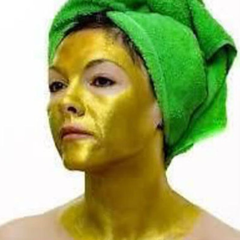 New 24K Gold Collagen Active Face Mask Powder Skin Whitening Moisturizing Anti Wrinkle Face Mask Treatment Skin Care Facial Mask