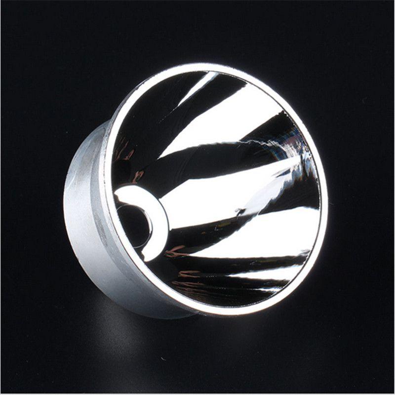 Nueva Llegada Reflector Liso Para DIY 67.6mm x 48.2mm para Convoy L6 Luz de Flash Linterna de La Antorcha de Iluminación Portátil accesorios