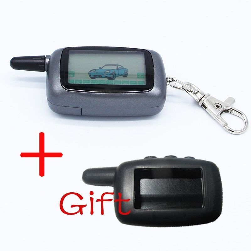 A9 LCD Remote Controller Keychain For Vehicle Security Two Way Car Alarm StarLine A9 Keychain alarm system for cars auto alarm