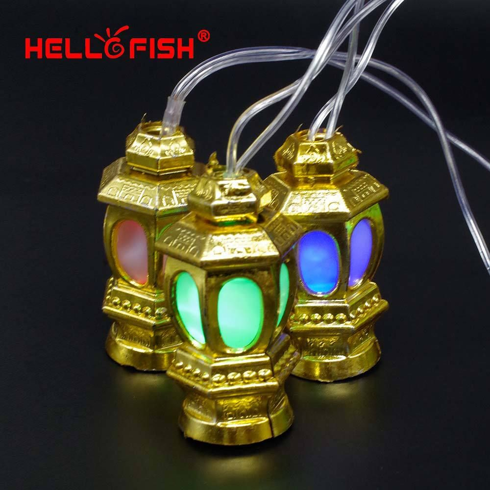 Hello Fish 2017 New Year Christmas Light AC110V-220V 4M 20 LED Chinese Lanterns String Light for Holiday Party Home Decoration