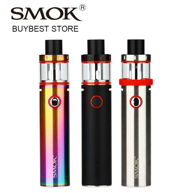 Original SMOK Vape Pen Plus <font><b>Starter</b></font> Kit with 3000mAh Built-in Battery & 4ml Tank Atomizer with 0.25ohm Dual Core 24.5mm Vape Kit