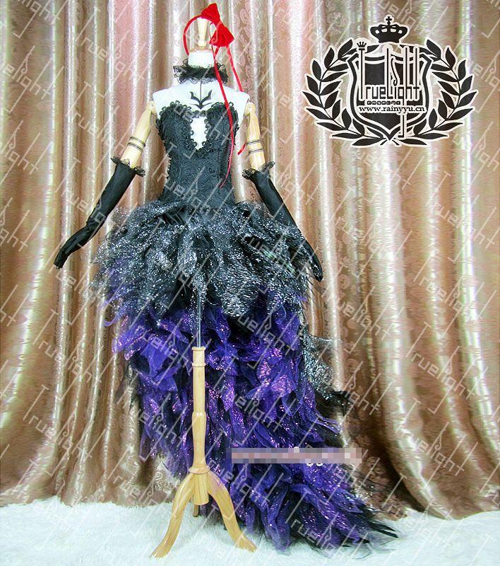 Robe cosplay de Puella Magi Madoka Magica Akemi Homura sur mesure