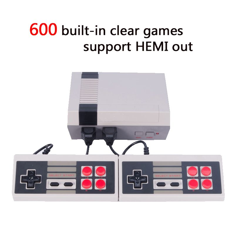 HDMI Out Retro Classic handheld game player Family TV video game console Childhood Built-in 600 Games HDMI output mini Console