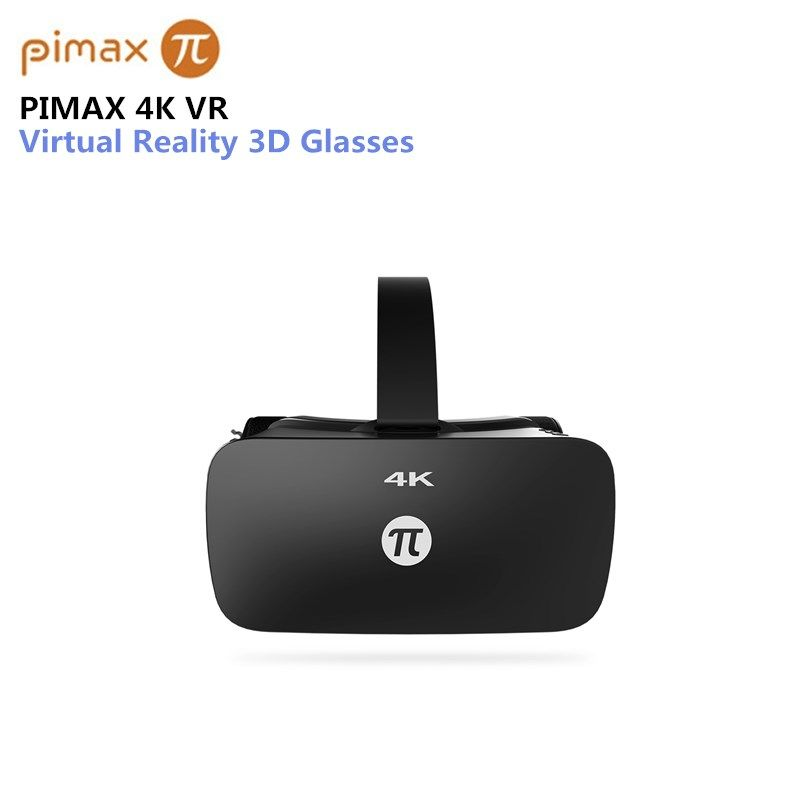 Original PIMAX 4K VR Helmet Cardboard Virtual Reality Glasses Mobile Phone 3D Video Movie Headset With Earphone PC 110 Degree