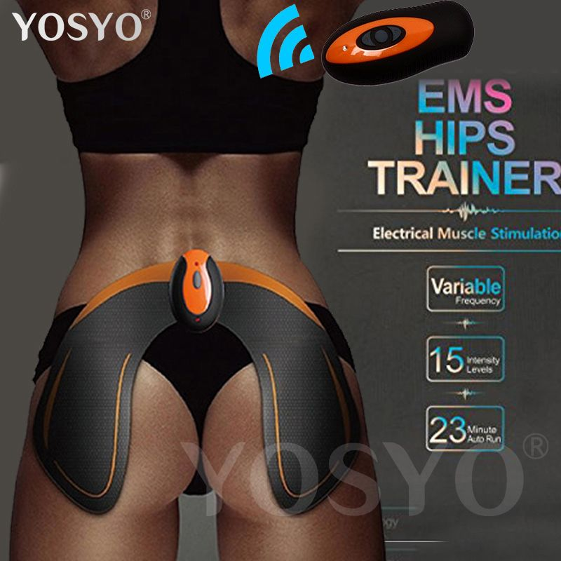 EMS Hips Trainer Muscle Hip Stimulator Butt Helps To Lift Shape and Firm Buttock Breech Electronic Remote Control Rechargeable