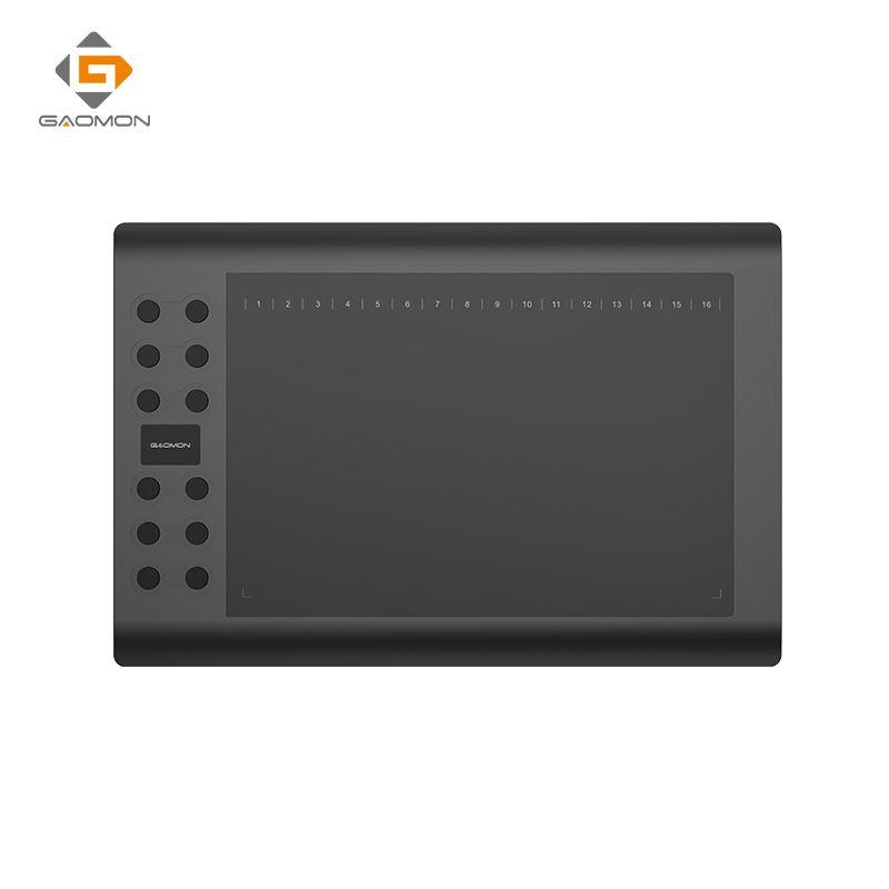 Tablette graphique professionnelle pour dessiner des tablettes stylo USB gafairy M106K 10x6 pouces Art Digital